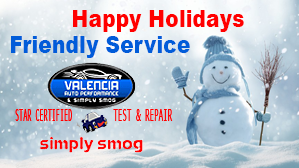 Valencia Auto Performance – Winter Deal
