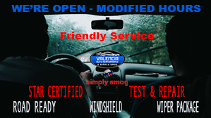 Modified Hours – Valencia Auto Performance & Simply Smog