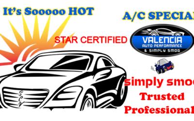 $50 Dollar Savings – A/C System Check – Valencia Auto Performance