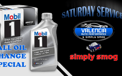 Valencia Auto Performance & Simply Smog – Saturday Service