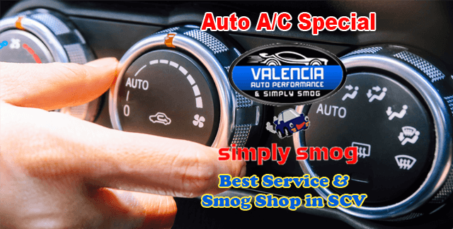 Hot Today in SCV | Get Your Auto A/C Checked