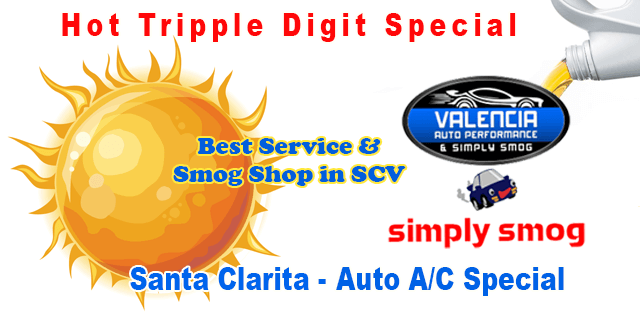 Complete A/C Inspection and Service | Valencia Auto Performance