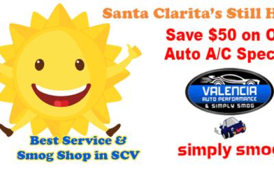Valencia Auto Performance   Auto A/C System Check – Save $50