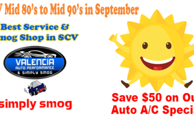 SCV Summer's Over. Really? Not!   Valencia Auto Performance