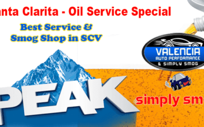 OIL CHANGE SPECIAL at Valencia Auto Performance